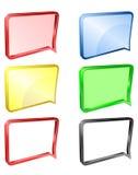 Mitteilung oder Mitteilung ico Lizenzfreie Stockfotografie