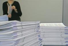 Mitteilungsblatt-Flugschriften Lizenzfreies Stockbild