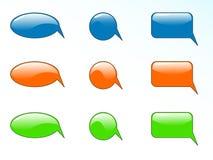 Mitteilungsform Lizenzfreie Stockbilder