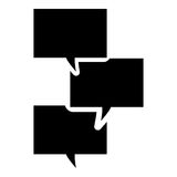 Mitteilungsikone Vektor Abbildung