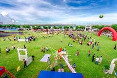Mittel-Herbsttätigkeiten von Jugend in Vietnam Lizenzfreies Stockbild