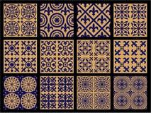 Mittelalter-nahtlose Muster Stockbild