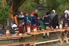 Mittelalterfestival Stockbilder