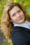 Mittelalterfrau Lizenzfreie Stockbilder