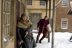 Mittelalterlich stockfotografie