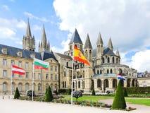 Mittelalterliche Abtei von Saint-Etienne in Caen, Frankreich Stockfotos