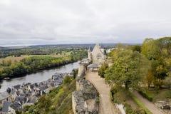 Mittelalterliche alte Frankreich-Landschaft Lizenzfreie Stockfotografie