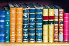 Mittelalterliche Bücher Stockfoto