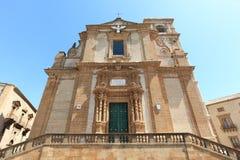Mittelalterliche barocke Kathedrale, Sizilien Lizenzfreie Stockbilder