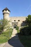 Mittelalterliche Bastion in Royal Palace, Budapest stockfotos