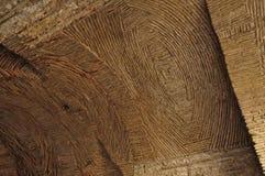 Mittelalterliche Bogendecke Stockfoto