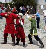 Mittelalterliche Bogenschützen Lizenzfreie Stockbilder