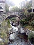 Mittelalterliche Brücke stockfotografie