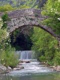 Mittelalterliche Brücke Lizenzfreie Stockfotos