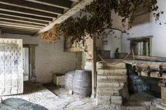 Mittelalterliche Brauerei Stockbild