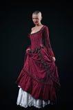 Mittelalterliche Dame Stockfoto