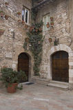 Mittelalterliche Ecke Stockbild