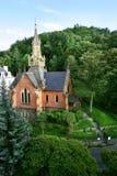Mittelalterliche englische Kirche in Prag Lizenzfreie Stockfotos