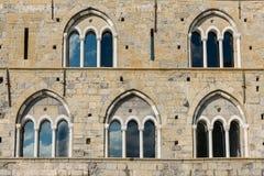 Mittelalterliche Fenster Lizenzfreie Stockfotografie