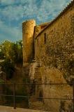 Mittelalterliche Festung Stockfotos
