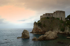 Mittelalterliche Festung stockfotografie