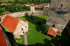 Mittelalterliche Festung Calnic Stockfotografie