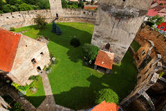 Mittelalterliche Festung Calnic Lizenzfreies Stockfoto