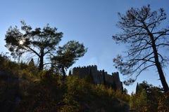 Mittelalterliche Festung Herceg Stjepans im Blagaj stockbilder