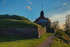 Mittelalterliche Festung Korela war die nordwestlichste Stadt von Russland Die Festung wurde an der Wende der Jahrhunderte XIII g lizenzfreie stockfotos