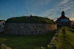 Mittelalterliche Festung Korela war die nordwestlichste Stadt von Russland Die Festung wurde an der Wende der Jahrhunderte XIII g lizenzfreies stockbild