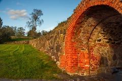 Mittelalterliche Festung Korela war die nordwestlichste Stadt von Russland Die Festung wurde an der Wende der Jahrhunderte XIII g lizenzfreie stockbilder