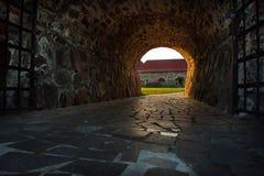 Mittelalterliche Festung Korela war die nordwestlichste Stadt von Russland Die Festung wurde an der Wende der Jahrhunderte XIII g stockfotografie