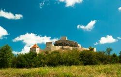 Mittelalterliche Festung von Rupea, Brasov, Siebenbürgen, Rumänien Lizenzfreie Stockbilder