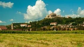 Mittelalterliche Festung von Rupea, Brasov, Siebenbürgen, Rumänien Stockfotos