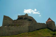 Mittelalterliche Festung von Rupea, Brasov, Siebenbürgen, Rumänien Lizenzfreie Stockfotografie