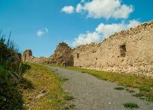 Mittelalterliche Festung von Rupea, Brasov, Siebenbürgen, Rumänien Stockfotografie