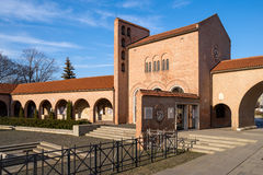 Mittelalterliche Gartenruinen in Szekesfehervar, Ungarn Lizenzfreies Stockfoto