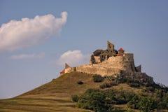 Mittelalterliche Gipfelfestung in Rumänien Lizenzfreie Stockfotos