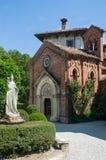 Mittelalterliche gotische Kirche Stockbild