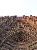 Mittelalterliche gotische Kirche Stockfotos