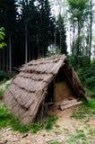 Mittelalterliche Hütte Stockbild