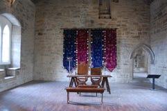 Mittelalterliche Halle Stockfoto