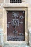 Mittelalterliche Haustür in Prag Lizenzfreie Stockbilder
