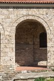 Mittelalterliche heilige vierzig Märtyrer-Kirche in der Stadt von Veliko Tarnovo, Bulgarien stockbilder