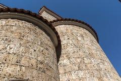 Mittelalterliche heilige vierzig Märtyrer-Kirche in der Stadt von Veliko Tarnovo, Bulgarien stockbild