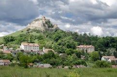 Mittelalterliche historische Festung von Rupea, Rumänien Stockbilder