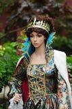 Mittelalterliche Königin Stockbild
