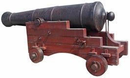 Mittelalterliche Kanone Stockfoto