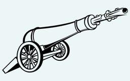 Mittelalterliche Kanone Lizenzfreie Stockfotos