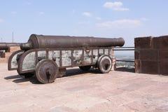 Mittelalterliche Kanone Stockbild